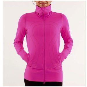 Rare Lululemon In Stride Jacket In Pink Sz 8